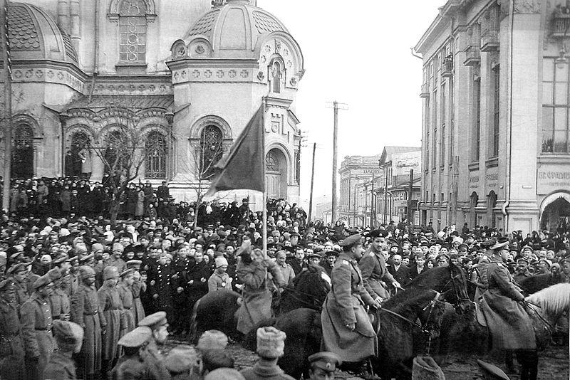 Митинг саперов