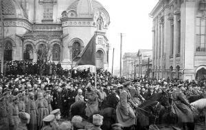 Собрание казаков и офицеров 2 Украинскаго запаснаго полка