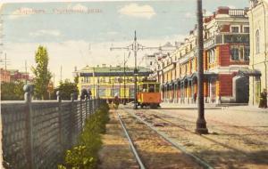На трамвае