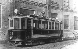 Сокращение трамвайнаго движения